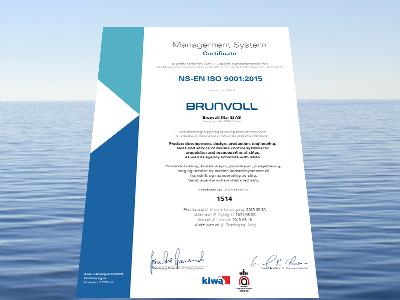 Management System Certificate, Brunvoll Mar-El AS