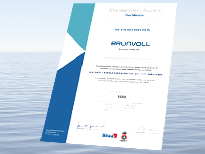 Management System Certificate, Brunvoll Volda AS