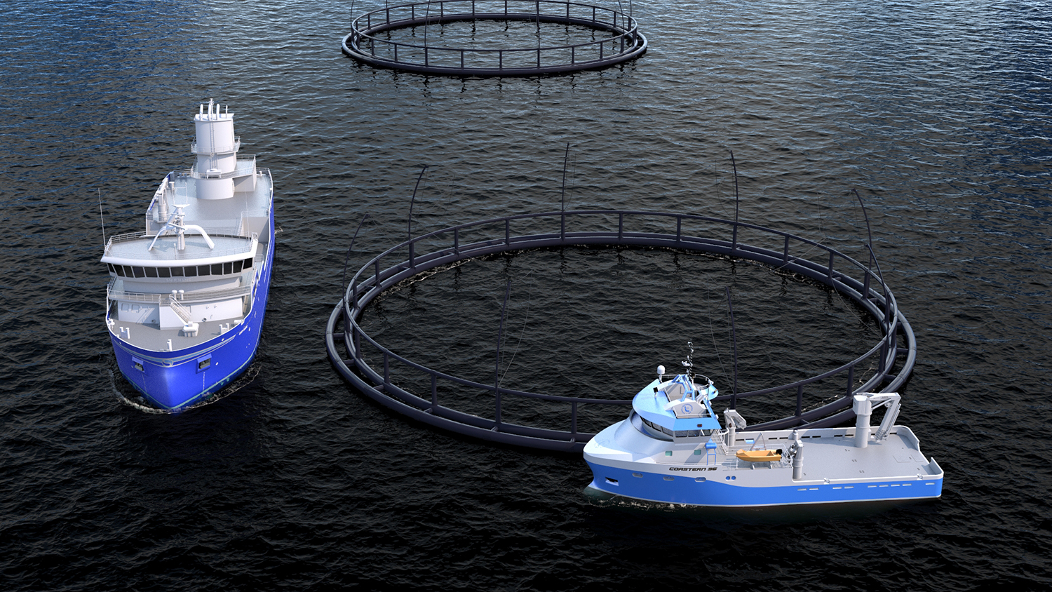 Hybrid propulsion and automation systems contribute to sustainability in the aquaculture industry