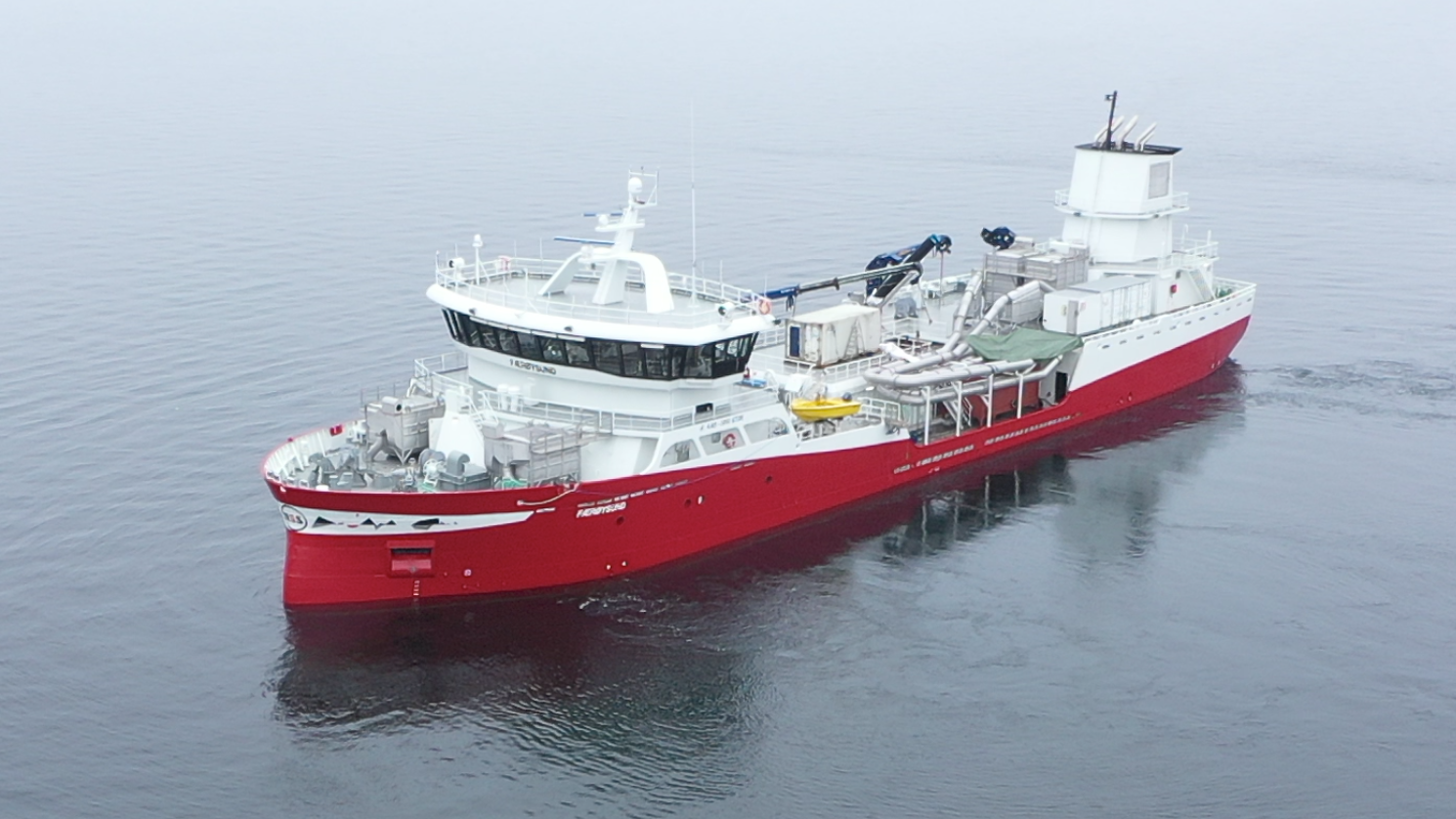 High efficiency with Brunvoll Hybrid Propulsion and Automation Systems