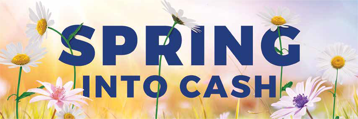 Medico's Spring Into Cash Program