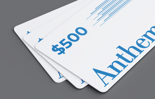 Win a $500 Visa Gift Card with Anthem in CT!