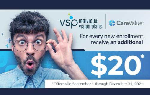 VSP: An Extra $20 per Enrollment!