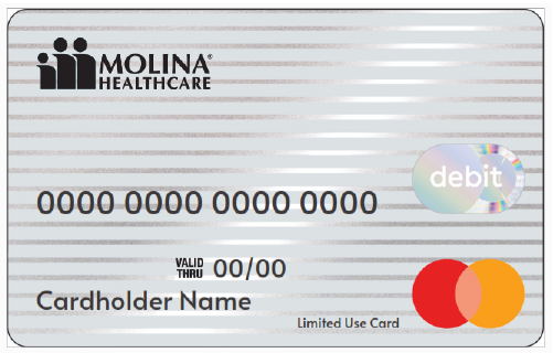 New Molina Grocery Debit Card for 2021!