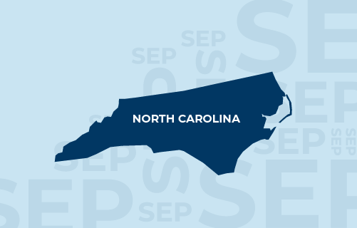 Special Election Period (SEP) in effect for North Carolina