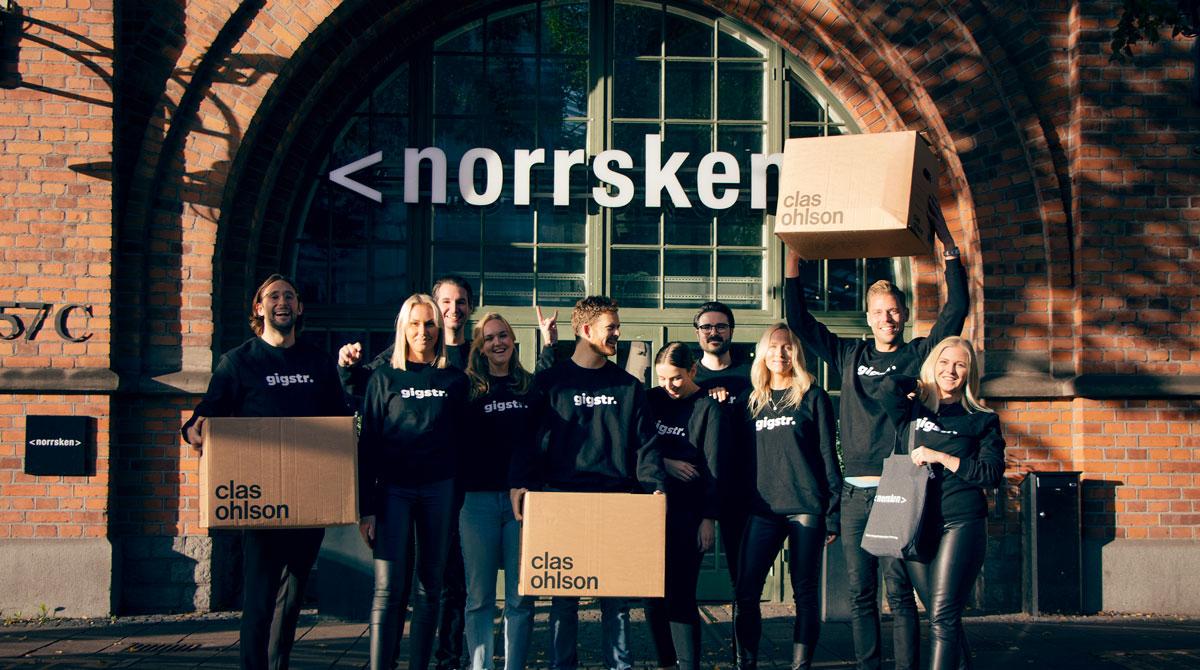 Gigstr får uppdraget att hantera eventbokningar för Norrskens eventytor