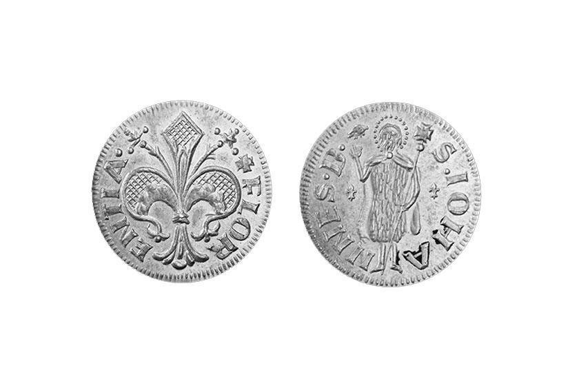 silver florentine coin florin florence jewelry fiorino stella torrini