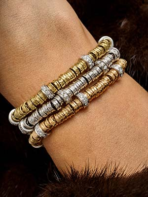 diamond bracelets gold
