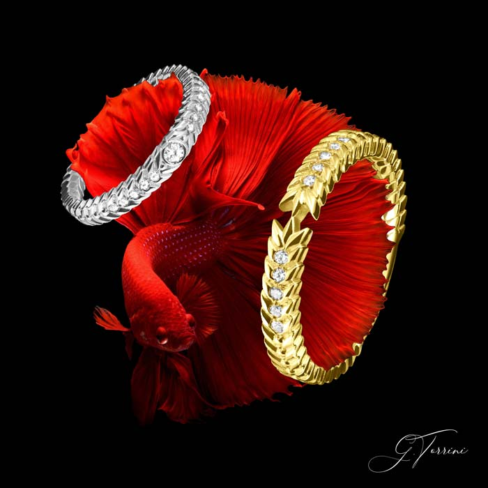 gold rings italy