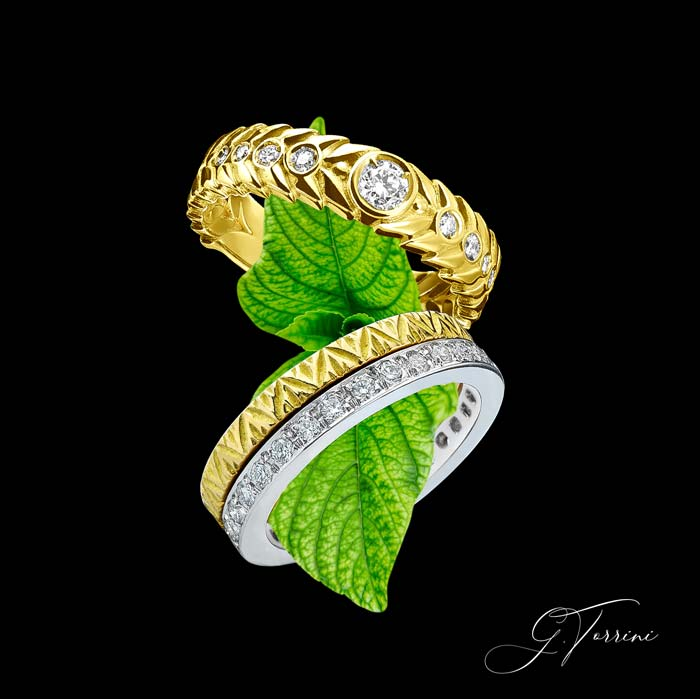 diamond rings jewelry italy