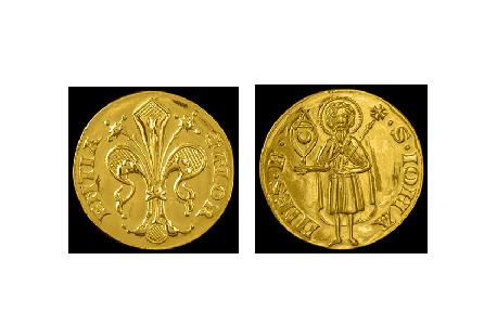gold florin coin florence torrini 1427