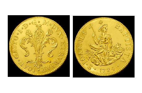 ruspone gold florentine coin florin florence jewelry torrini