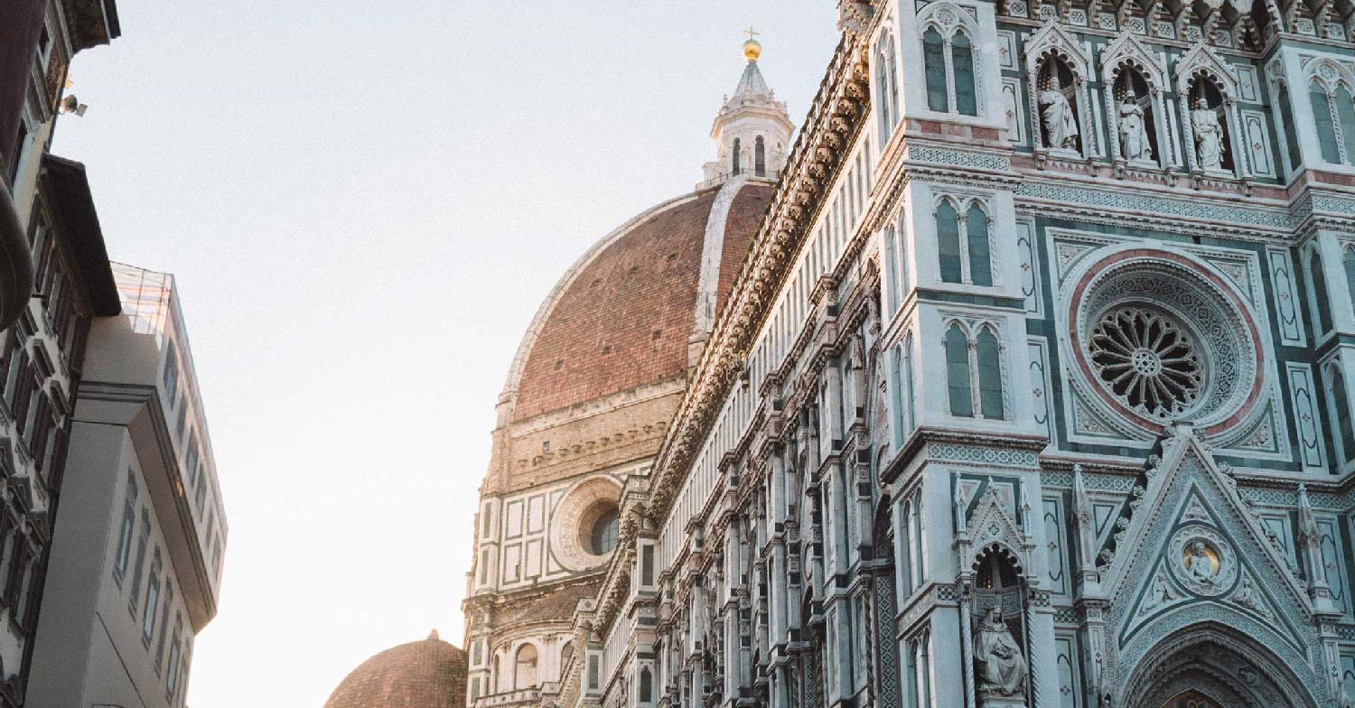 cathedral dome florence italy