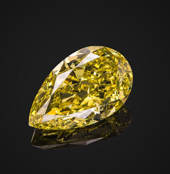 yellow diamond fancy