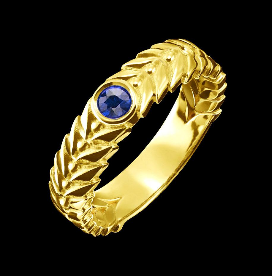sapphire ring alloro