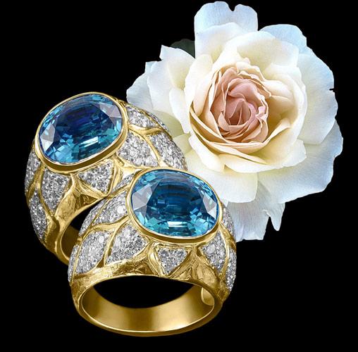 topaz ring jewelry