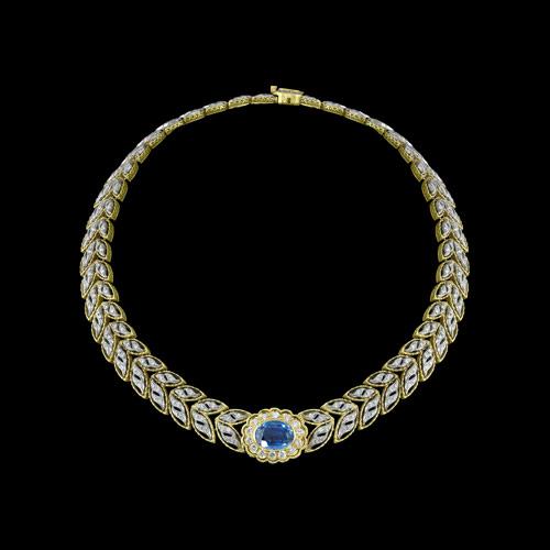 topaz necklace jewelry