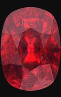 cushion ruby
