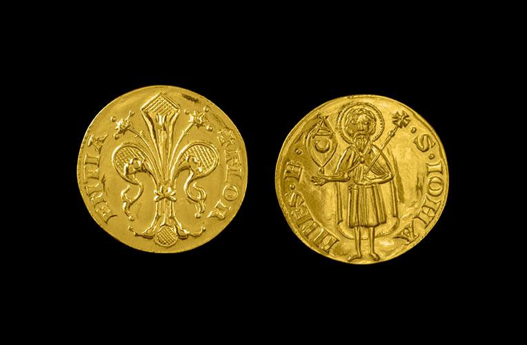 gold florin 1427 florence torrini