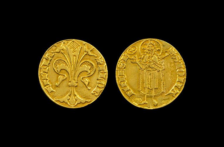 gold florin 1256 florence torrini