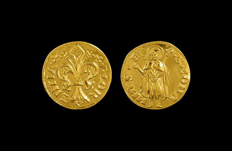 gold florin 1369 florence torrini