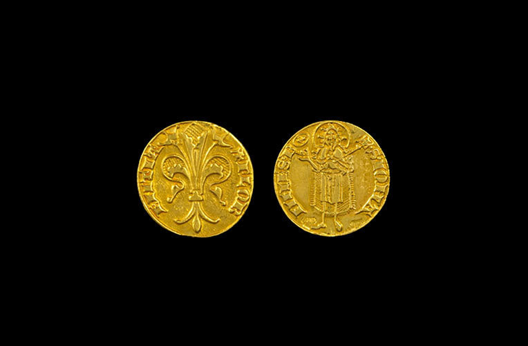 quarter florin gold florence torrini