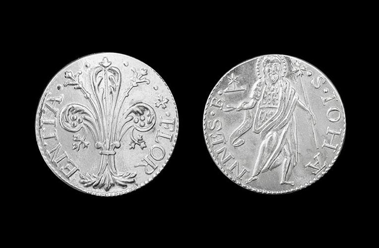 silver coin quinto scudo florence torrini