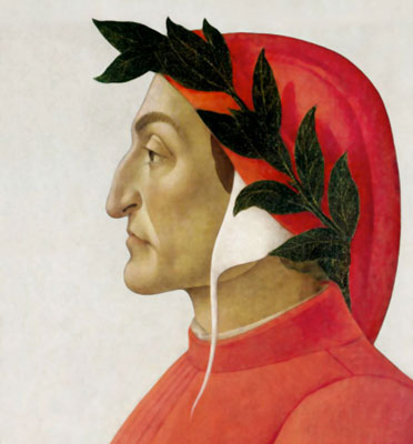 Dante Alighieri portrait Florence Divine Comedy
