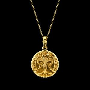 gold florin neckalce florence