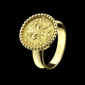 coin ring florin Florence