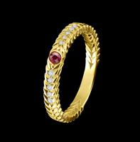 ruby thin ring