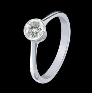 diamond engagement ring jewelry torrini florence 1369 made italy