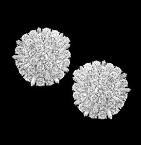 diamond earrings jewelry torrini florence 1369 made italy