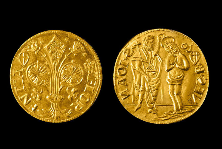 double florin gold florence torrini