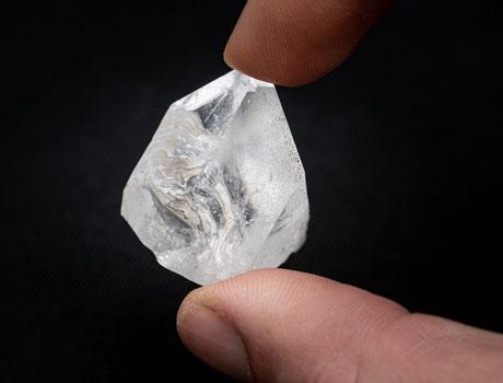 carat of diamond mineral