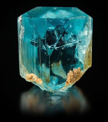 blue topaz mineral gemstone