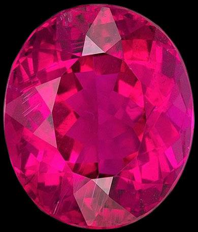 pink tourmaline gemstone