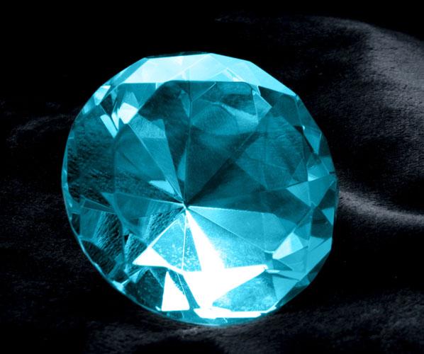 aquamarine gemstone round cut