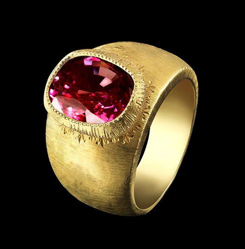 garnet ring florence jewel