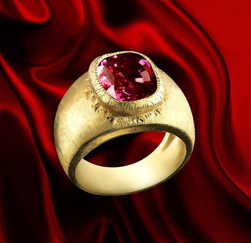 garnet gold ring jewel florence