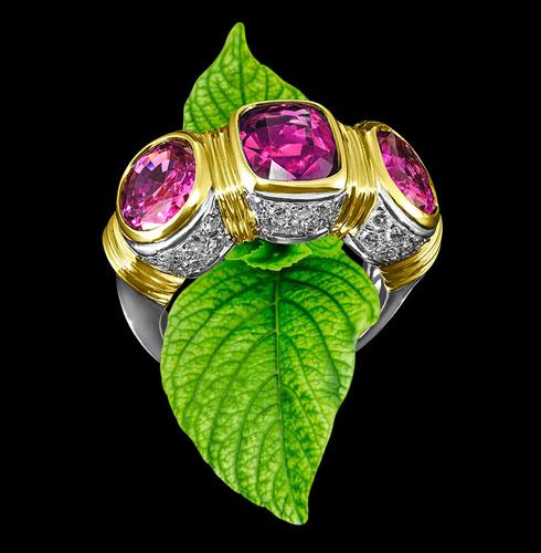 tourmaline ring gemstone jewel
