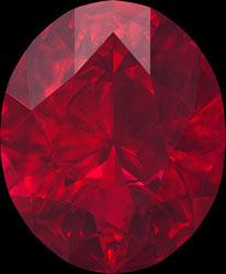 ruby birthstone july