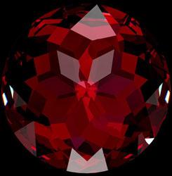 red garnet birthstone january