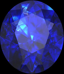 blue sapphire birthstone september
