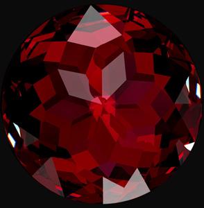 garnet red gemstone birthstone