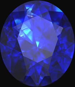 blue sapphire gemstone birthstone