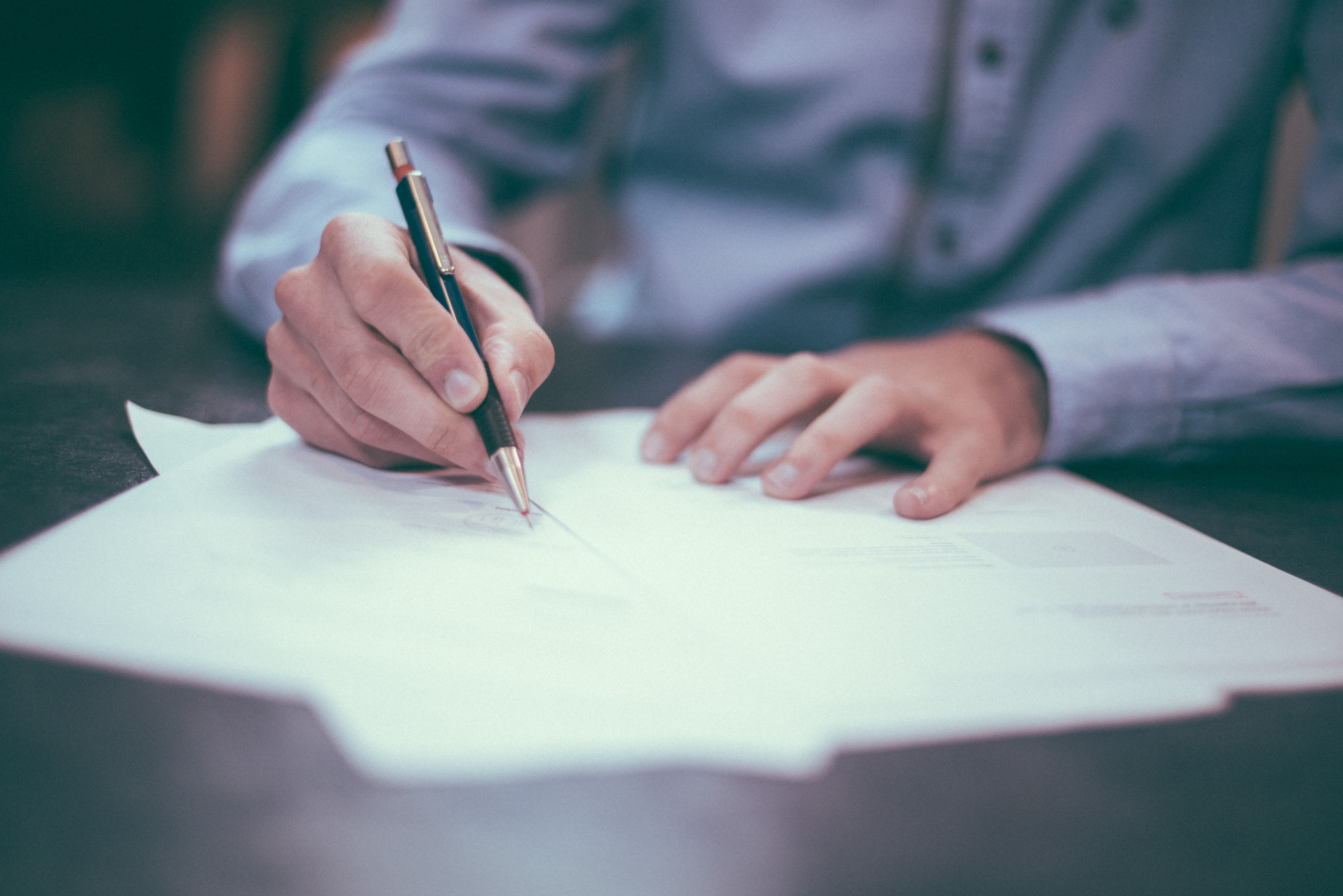 What is an agent of record (AOR) letter?