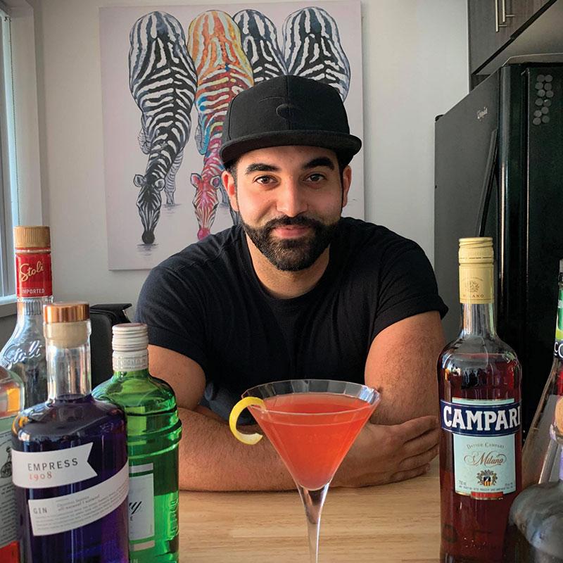 Virtual Cocktail host