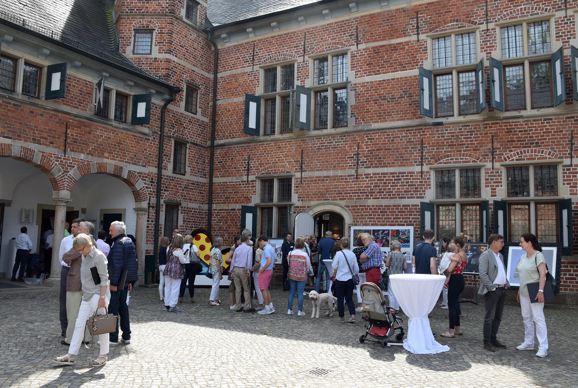 Britto-Ausstellung im Schloß Reinbek