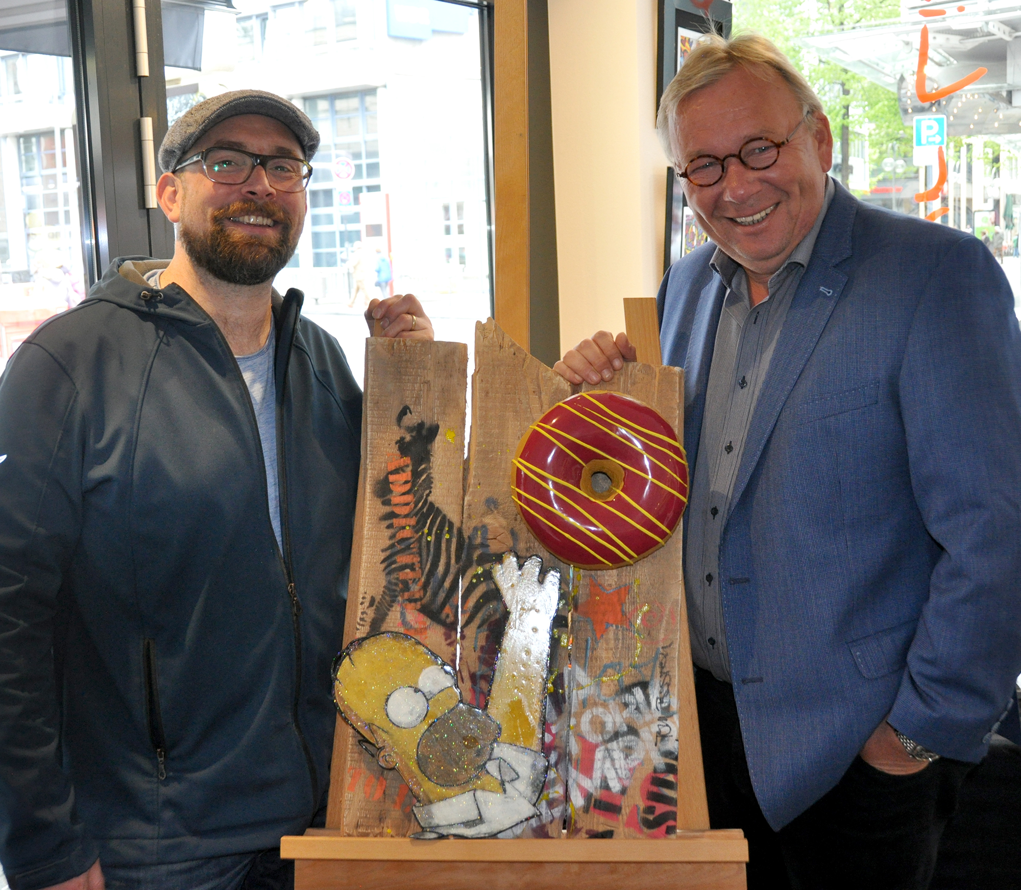 Tom Boston mit Bernd Stelter in Köln